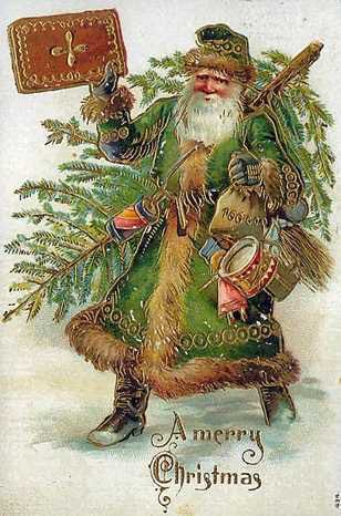 22_1_Noel Baba'nın günümüzdeki tasviri Coca Cola tarafından belirlenmiştir. Reklamlar öncesi yeşil kıyafetlerle bilinirdi